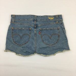 Levi's Cut Off Shorts Slouch 504 Jeans Size 13